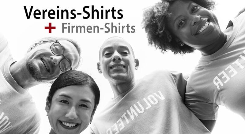 T-Shirts, Poloshirts für Firmen und Vereine bedrucken lassen