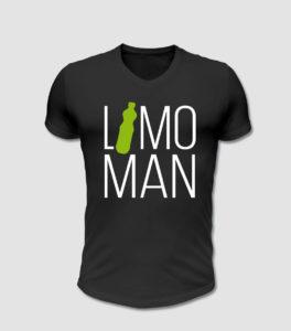 Spruch des Monats T-Shirt bedruckt - Limo man