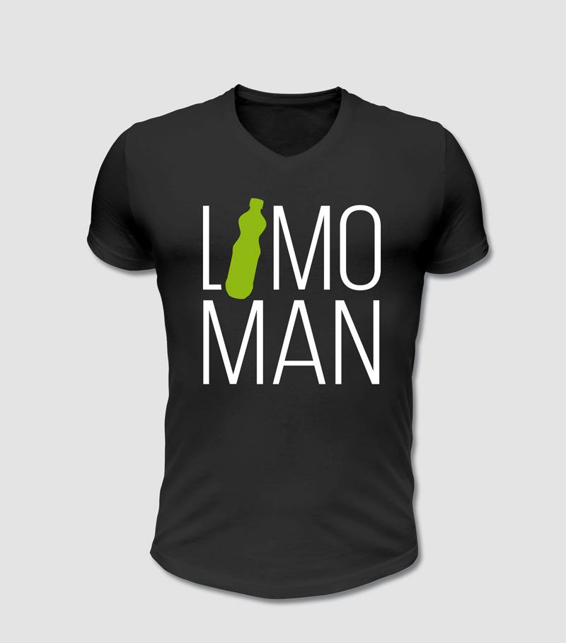 Limo Man Spruch, Geschenk Idee, T-Shirt Druck