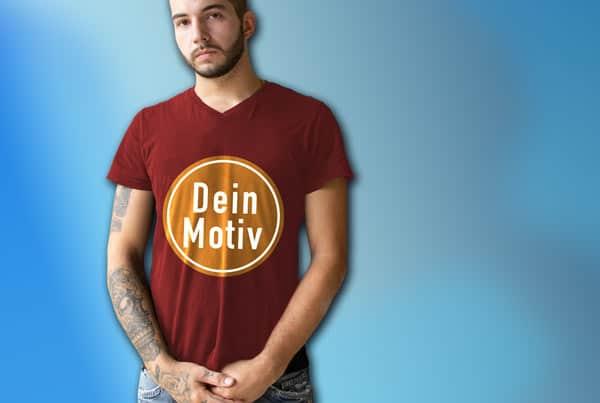 T-Shirt Druck, Hoodies, Longsleeve mit ihrem eigenem Motiv in allen Farben für Vereine und Firmen