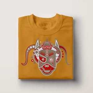 Bull T-Shirt Druck, Geschenk Idee, T-Shirt Druck