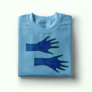 Hands on Shirt, Geschenk Idee, T-Shirt Druck