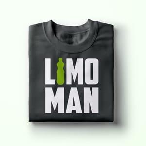 Limo Man Shirt, Geschenk Idee, T-Shirt Druck