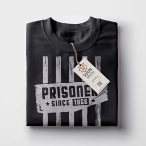 Prisoner. Gefangenen, Knast T-Shirt, Geschenk Idee, T-Shirt Druck