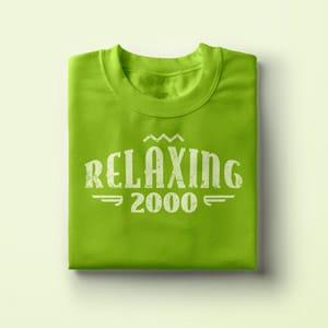 Relaxing Spruch, T-Shirt Druck als Geschenk Idee