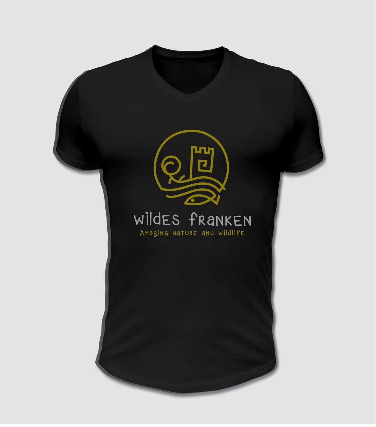 Wildes Franken T-Shirt Wildlife Fränkische Schweiz